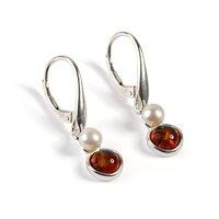 pearl-green-amber-silver-lunette-earrings