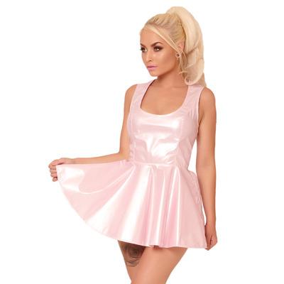Pink PVC Ballerina Dress