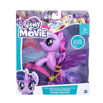 My Little Pony The Movie Glitter And Style Sea Pony Twilight Sparkle Figure