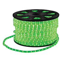 LED Ropelight with Wiring Accessories 90m Green