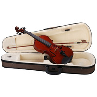 3/4 Virtuoso Student Violin with Case and Bow