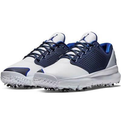 Nike Golf Shoes - Air Jordan Trainer ST G - White - Blue 2018