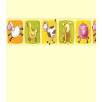 Animal Farm Wallpaper Border