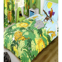 Jungle Bedding Set - Single