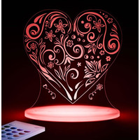 Love Heart Night Light
