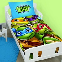 TMNT Toddler Bedding - Heroes