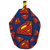 Superman / Supergirl Childrens Beanbag