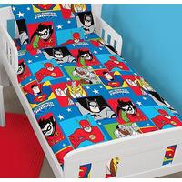 DC Comics, Super Friends Toddler Bedding