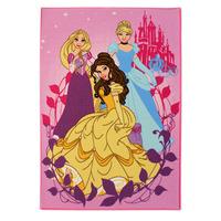 Disney Princess Rectangular Rug - 95 x 133 cm