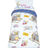 Charlie and the Chocolate Factory Single Bedding - Willy Wonka