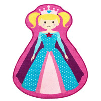 Princess Magic Shaped Rug - 86 x 100 cm