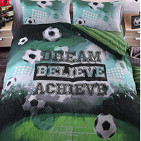 Football Pitch Single Bedding
