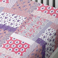 Mermaids, Patchwork Single Fitted Sheet