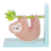 Happy Sloth Bookends