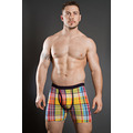 Jockey Ocean Drive Check Boxer Trunk With Fly