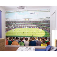 Football Crazy Bedroom Wallpaper Mural