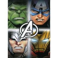 DC Comics, Marvel Avengers Towel - 100% Cotton