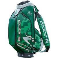 COBRA PUMA Golf Staff Bag - Union Camo Vessel - Green LE 2019