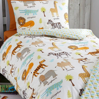 Safari Animals Single Duvet