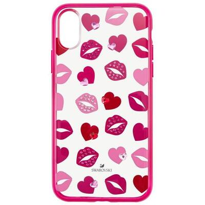 Swarovski Lovely Smartphone Case With Integrated Bumper, Iphone® X/xs, Pink, 5453728