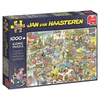 Jumbo 19051 Jan Van Haasteren 19051 - The Holiday Fair 1000 Piece Jigsaw Puzzle