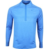 Nike Golf Pullover - NK Dry Knit Statement - LT Photo Blue AW19