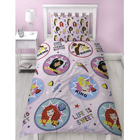 Disney Princess, Reversible Single Duvet - Fearless