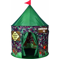 Army style play tent