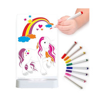 Unicorn Night Light - Colour and Shine