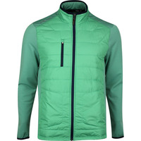 RLX Golf Jacket - Quilted Coolwool - Haven Green SS20