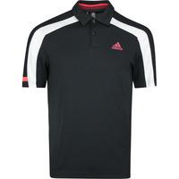 adidas Golf Shirt - Sport Heat Ready Polo - Black SS20