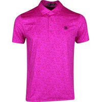 G/FORE Golf Shirt - Vines Polo - Bougainvillea SS20
