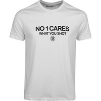 G/FORE T-Shirt - No1 Cares Tee - Snow SS20