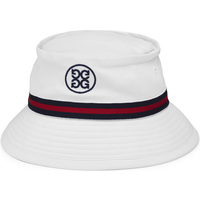 G/FORE Golf Hat - Bucket Stripe - Snow 2020