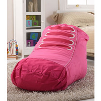 Trainer Shaped, Girls Bean Bag - Pink