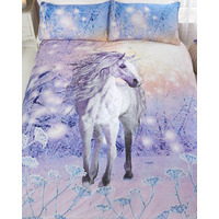 Magical Unicorn Sparkle And Shine Double Duvet