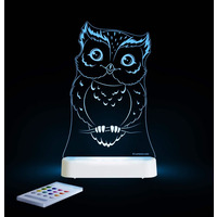 Owl 2 Colour Changing Night Light