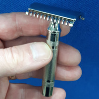 Vintage Gillette 1930s New Premium Restored safety Razor