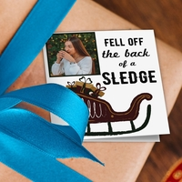 Christmas Sledge Gift Tags - Pack of 8