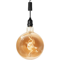Battery Powered Pendulum Hanging Light with Timer