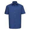 Click to view product details and reviews for Russell 937m Short Sleeve 100 Cotton Poplin Shirt.