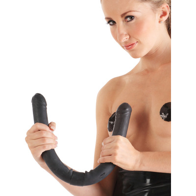 Moulded Rubber Double Ended Dildo