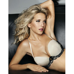 Ultimo Black Widow Strapless Plunge Bra Black