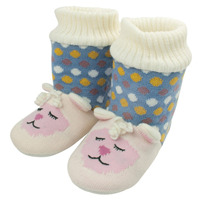 aroma-home-fun-for-feet-knitted-slipper-booties-lamb