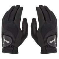 Puma Golf Gloves - Rain Pair Black AW16