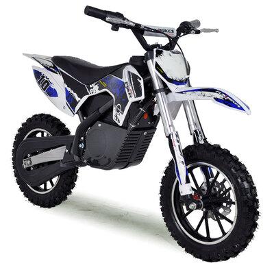 FunBikes MXR 61cm Dark Blue Electric Kids Mini Dirt Bike