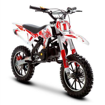 FunBikes MXR 50cc 61cm Red Kids Mini Dirt Bike