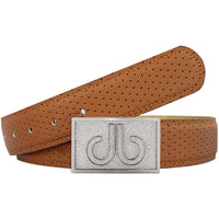 Druh Golf Belt - Players Square Leather - Light Brown 2017