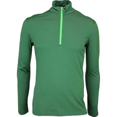 Icebreaker Oasis Half Zip Merino Golf Base Layer Conifer AW15