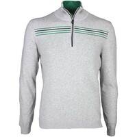Hugo Boss Zarm Golf Jumper Grey Melange PS16